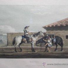 """Arte: GRABADO A COLOR """"MILK BOYS …ENMARCADA. Lote 27151238"""