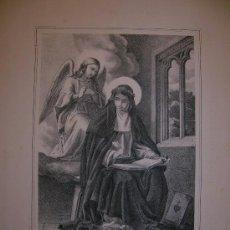 Arte: SANTA CATALINA DE SENA. ESTAMPA. S.XIX.. Lote 14794001