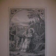 Arte: SAN ESTEBAN. ESTAMPA S.XIX.. Lote 14794174
