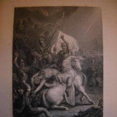 Arte: LA CONVERSIÓN DE SAN PAUL. ESTAMPA. S.XIX.. Lote 14843471