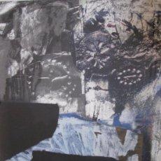 Arte: CLAVE, A. (1913-2005) ESTELS. CARBORUNDUM. NUMERADO. FIRMADO.. Lote 26237290