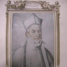 Arte: DOCTOR ÁLVARO PICAÑO DE PALACIO. RETRATO. ESTAMPA. S.XIX.. Lote 14928161