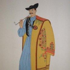 Arte: 39 LITOGRAFIAS POCHOIR DE VESTIMENTA TRADICIONAL DE AUSTRIA, HUNGRÍA, CHECOSLOVAQUIA Y POLONIA 1939. Lote 26311645