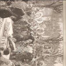Arte: 2600. PARIS: ENTIERRO DE BLANQUI (REVOLUCIONARIO DEL MOVIMIENTO ESTUDIANTIL) EN PERE LACHAISE. Lote 15681219