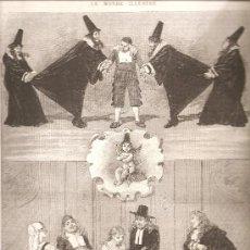 Arte: 2588. L,AMOUR MEDECIN. OPERA COMICA DE CHARLES MONSELET Y F. POISE. Lote 15681358