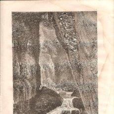 Arte: HUNGRIA: CASCADAS DE BISTRIZA. Lote 15697471