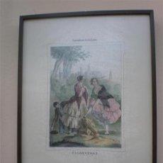 Arte: CONSTUNBRES ANDALUZAS CIGARRERA. Lote 17350421