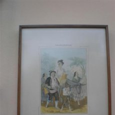 Arte: CONSTUNBRES ANDALUZAS FAMILIA JITANA. Lote 17350478