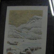 Arte: CONGOST PLA, SEBASTÍÁ, NACIDO EN OLOT EN 1919. FIRMADO A LÁPIZ. Lote 27272752