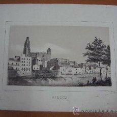 Arte: GERONA. MIRANDA, DIB. Y LITº. LIT. J. DONON, MADRID. SIGLO XIX.. Lote 18971621