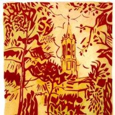 Arte: ANTONI TAULÉ PUJOL. PINTOR Y GRABADOR NACIDO EN SABADELL EN 1945 Y ESTABLECIDO EN PARÍS DESDE 1973. Lote 27204078