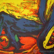 Arte: BENGT LINDSTROM GRABADO SOBRE CARTULINA. Lote 26921090
