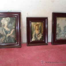 Arte: 3 CUADROS EN TELA. Lote 22537502