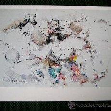 Arte: PINO LA VARDERA 1983. GRAN LOTE DE LITOGRAFIAS. Lote 27643022