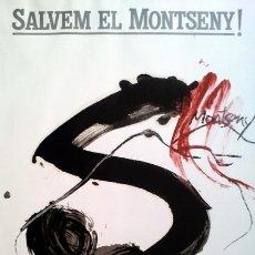 Arte: TAPIES, A. (1923-2012). MONTSENY. 1986. F-H Nº165.. Lote 26882755