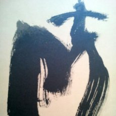 Arte: TAPIES, A. (1923-2012). CRUZ Y M. LIMITADA. NUMERADA. 1999.. Lote 199956028