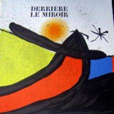 Arte: MIRO, J (1893-1983). PINTURAS SOBRE PAPEL, DISEÑOS. 9 LITOGRAFIAS. 1971. MOURLOT 738-740. Lote 26259744