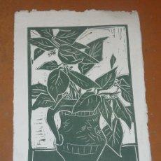 Arte: SERIGRAFIA DE TERESA LLACER. MIDE 25 CM X 18 CM. . Lote 25108757