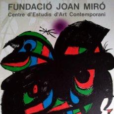 Arte: MIRO, J (1893-1983). CENTRO DE ARTE DE ESTUDIOS CONTEM. 2000 EJ. MOURLOT 1090.. Lote 26743722