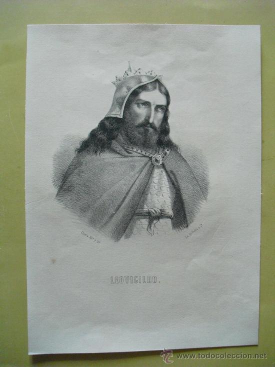 SIGLO XIX LEOVIGILDO (Arte - Serigrafías )