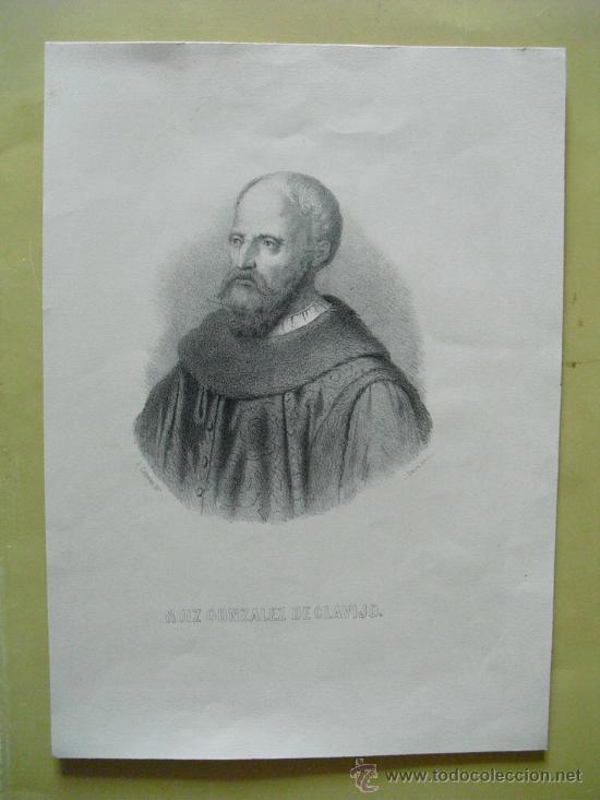 SIGLO XIX RUIZ GONZALEZ DE CLAVIJO (Arte - Serigrafías )