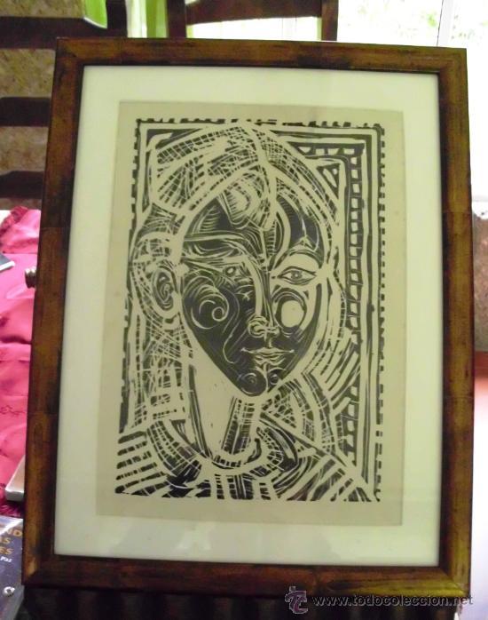 RETRATO DE NIÑA. XAIME QUESSADA. FIRMADO. 23/155 (Arte - Serigrafías )
