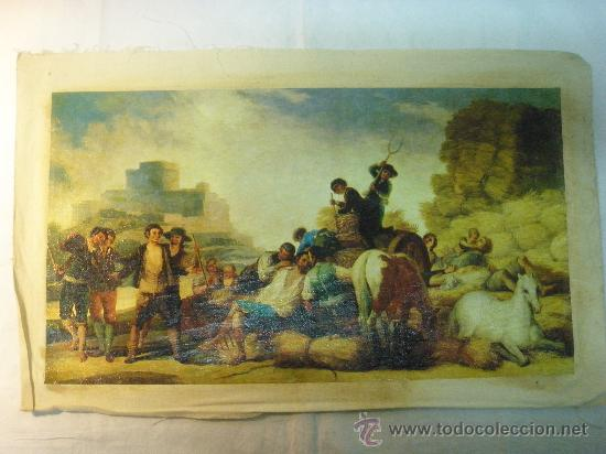 REPRODUCCION OLEOGRAFICA DE LA SIEGA DE FRANCISCO DE GOYA (Arte - Serigrafías )