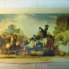 Arte: REPRODUCCION OLEOGRAFICA DE LA SIEGA DE FRANCISCO DE GOYA. Lote 27222454