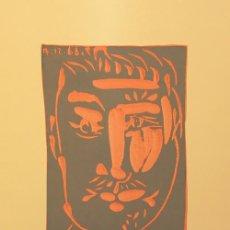 Arte: PABLO PICASSO / CARTEL EXPOSICIÓN CERÁMICAS HOKIN GALLERY PALM BEACH FLORIDA 1977-1978. Lote 27753592