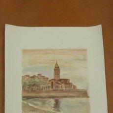 Arte: LINARES. LITOGRFAIA ORIGINAL FIRMADA A LAPIZ Y NUMERADA 140/300. MIDE 66 CM X 48 CM. Lote 27838909