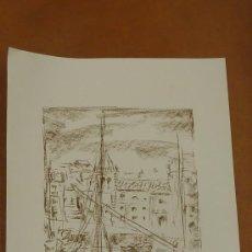 Arte: LINARES. LITOGRFAIA ORIGINAL FIRMADA A LAPIZ Y NUMERADA 140/300. MIDE 66 CM X 48 CM. Lote 27838916