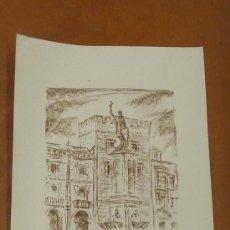 Arte: LINARES. LITOGRFAIA ORIGINAL FIRMADA A LAPIZ Y NUMERADA 140/300. MIDE 66 CM X 48 CM. Lote 27838934