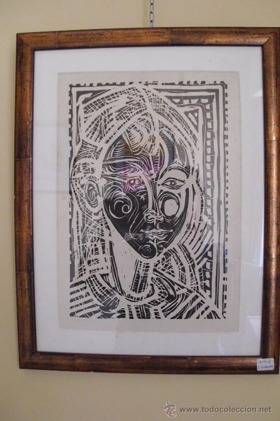 Arte: RETRATO DE NIÑA. XAIME QUESSADA. FIRMADO. 23/155 - Foto 2 - 26609873