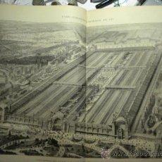 Arte: 243 PARIS FRANCIA EXPOSICION PRECIOSO GRABADO SIGLO XIX PIEZA ORIGINAL DE EPOCA 1878. Lote 28224760
