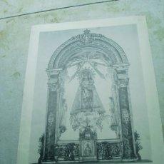 Arte: RECUERDO DEL 75 ANIVERSARIO DE LA FUNDACION COFRADIA DE NUESTRA SEÑORA DE LOS DESAMPARADOS 1889-1964. Lote 28358717