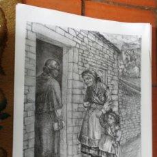Arte: SERIGRAFÍA JOSE Mª ACUÑA. FIRMADA POR EL AUTOR. 65 X 48 CM.. Lote 28856453