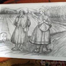 Arte: SERIGRAFÍA JOSE Mª ACUÑA. FIRMADA POR EL AUTOR. 65 X 48 CM.. Lote 36567506
