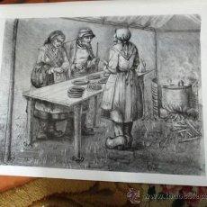 Arte: SERIGRAFÍA JOSE Mª ACUÑA. FIRMADA POR EL AUTOR. 65 X 48 CM.. Lote 28856469