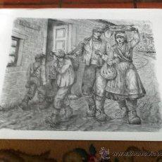 Arte: SERIGRAFÍA JOSE Mª ACUÑA. FIRMADA POR EL AUTOR. 65 X 48 CM.. Lote 28856483