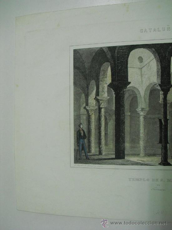 Arte: 1860 TEMPLO PRE-ROMANICO DE SAN MIGUEL EN TARRASA - Foto 2 - 29066708
