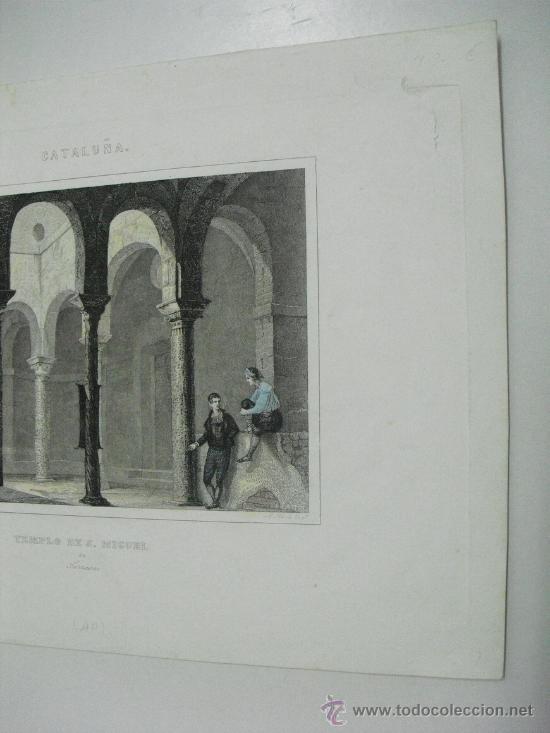 Arte: 1860 TEMPLO PRE-ROMANICO DE SAN MIGUEL EN TARRASA - Foto 3 - 29066708