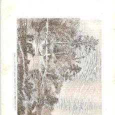 Arte: SIGLO XIX. CHILE: RIO SEDGER. Lote 29355728