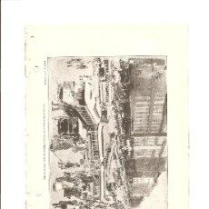 Arte: TRANVIA DE CHICAGO (SIGLO XIX). Lote 29645749