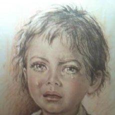 Arte: IMAGEN DEL FAMOSO PINTOR G.TARANTINO SERIGRAFIADA EN SEDA NATURAL.MILANO 1977. Lote 30131042
