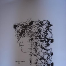 Arte: SERIGRAFIA LIMITADA A 100 EJEMPLARES 0,80X0,60 DE RENE PORTOCARRERO (1912 -1986). Lote 31604576