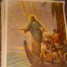 Arte: SERIGRAFIA RELIGIOSA AÑOS 40 EDITORIAL JOSE VILAMALA MEDIDAS 1,00 CTM X 7O CTM . Lote 31618648