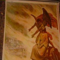 Arte: SERIGRAFIA RELIGIOSA AÑOS 40 EDITORIAL JOSE VILAMALA MEDIDAS 1,00 CTM X 7O CTM . Lote 31618735