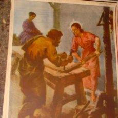 Arte: SERIGRAFIA RELIGIOSA AÑOS 40 EDITORIAL JOSE VILAMALA MEDIDAS 1,00 CTM X 7O CTM . Lote 31618747