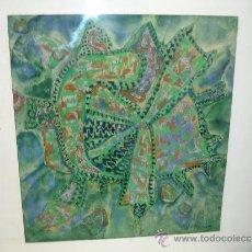 Arte: ERNESTO GONZALEZ PUIG DECADA DE LOS 70(PINTOR CUBA) SERIE SOLEX 50CM X 53CM . Lote 31842334