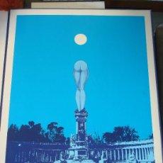 "Arte: EDUARDO URCULO, SERIGRAFIA.CARPETA: ""MONUMENTALIA PODICIS""SOBRE MONUMENTOS Y PLAZAS DE MADRID.1977 . Lote 33073670"
